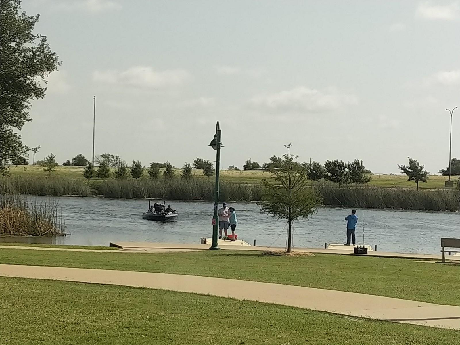 Boat testing lake